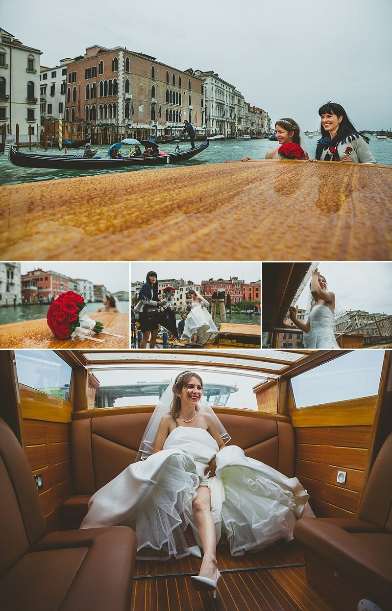 taxi service matrimonio venezia