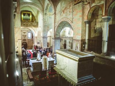 Diana & Alessandro Matrimonio a Santi Vittore e Corona