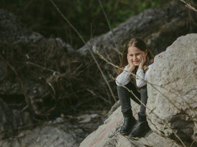 Servizio Fotografico Bambini - Chiara