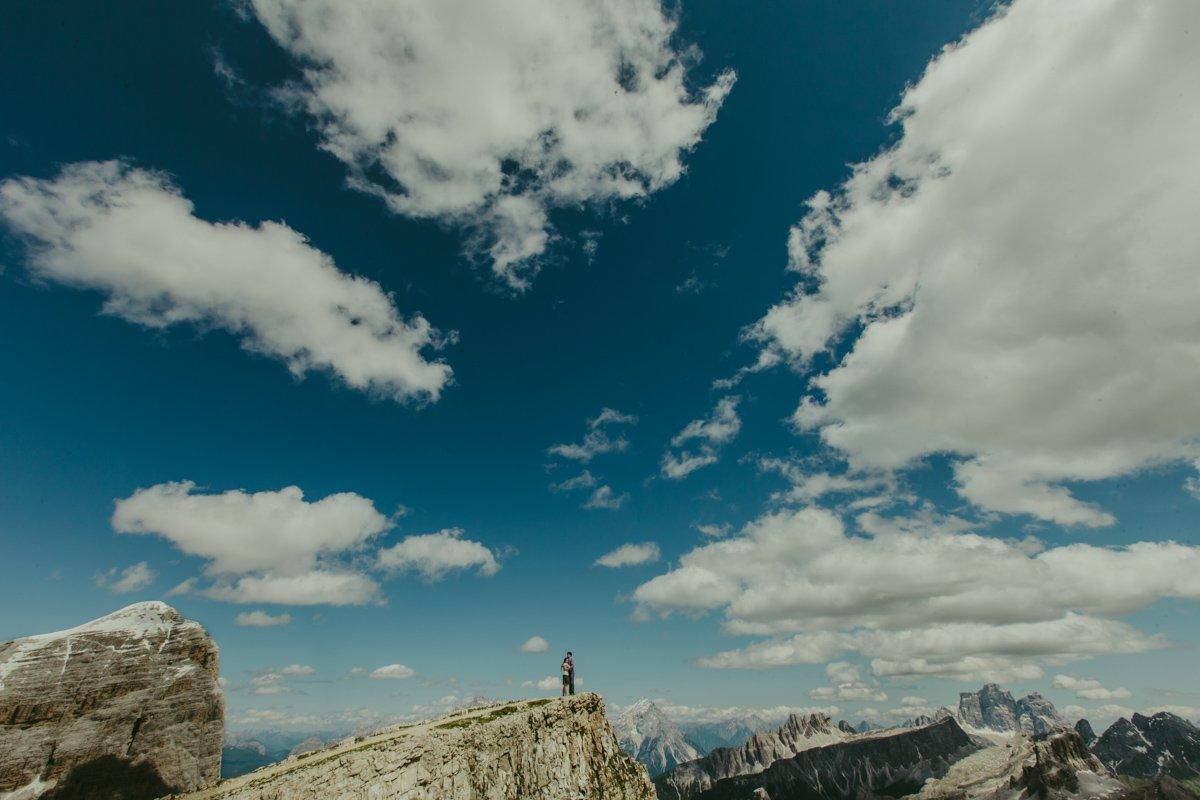 engagement nelle Dolomiti