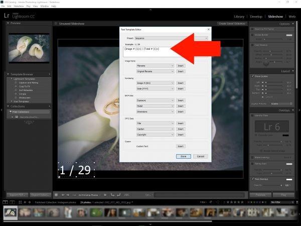 Edit menu personalizzato