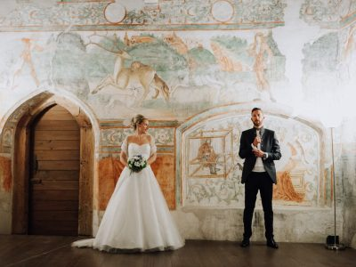 fot di coppia matrimonio castel pietra